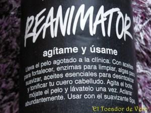 Detalle del Champú Reanimator