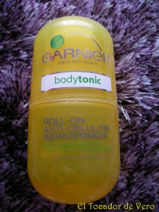Roll On Bodytonic anticelulitis Incrustada de Garnier