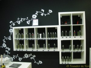 Perfumes en la tienda