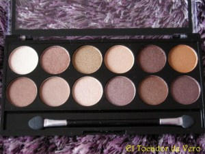 Paleta Heaven and Earth de MUA