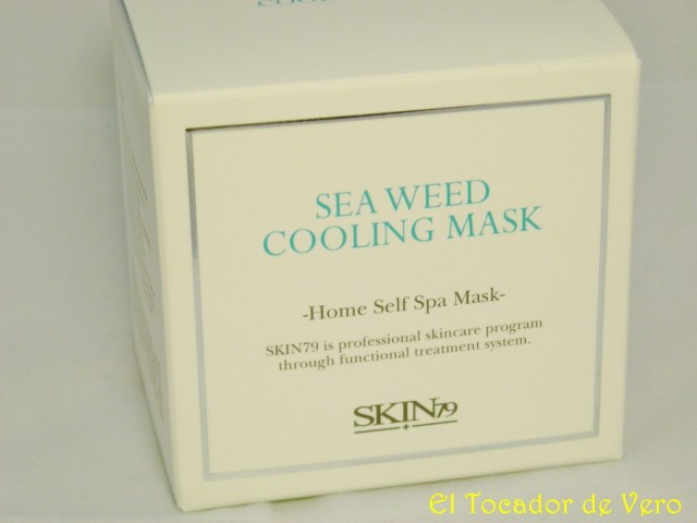 Mascarilla Sea Weed Cooling de Skin 79