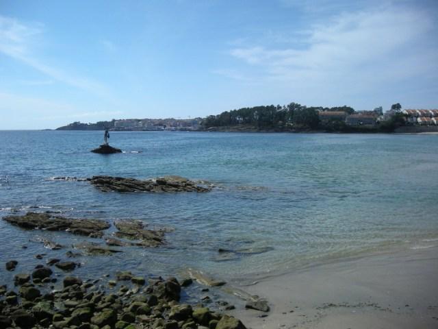 Playa de Silgar en Sanxenxo - otra vista