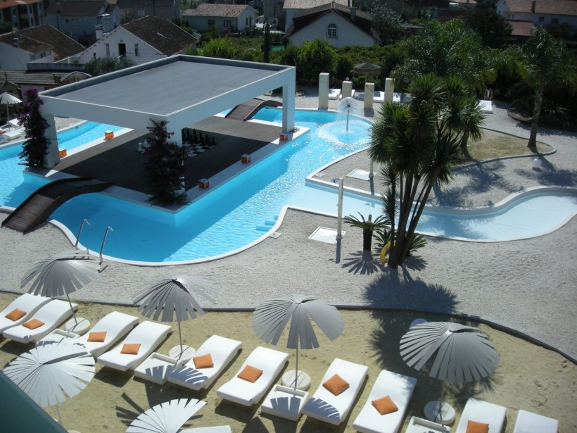 Vistas del Caribbean Chill Spa desde mi habitación