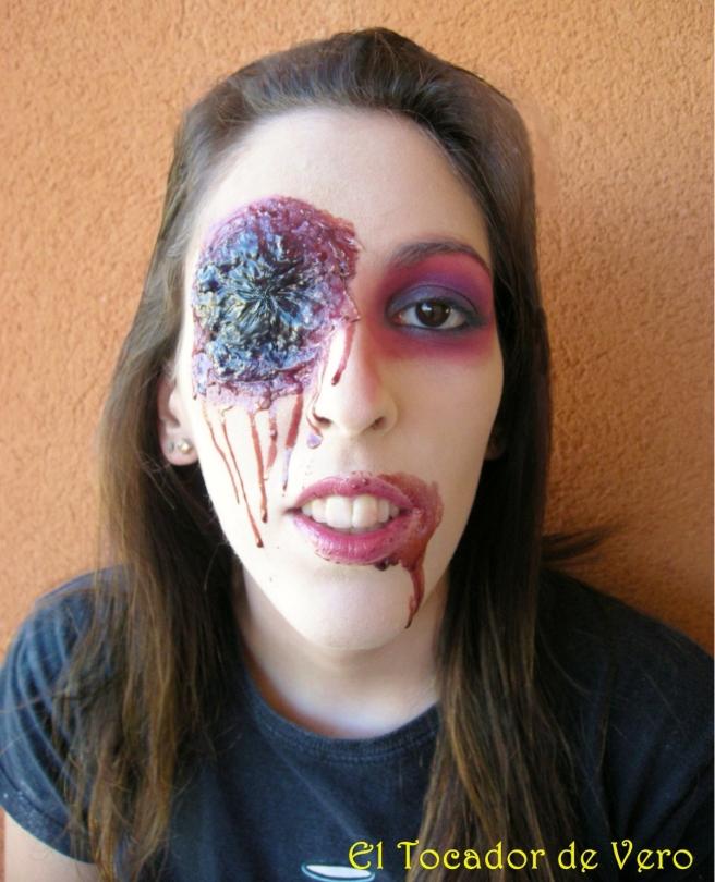 Maquillaje Halloween Zombie