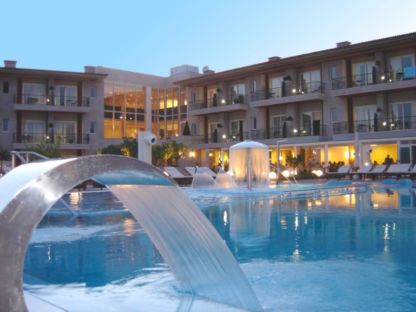 Augusta spa resort, vista exterior - imagen sacada de su web