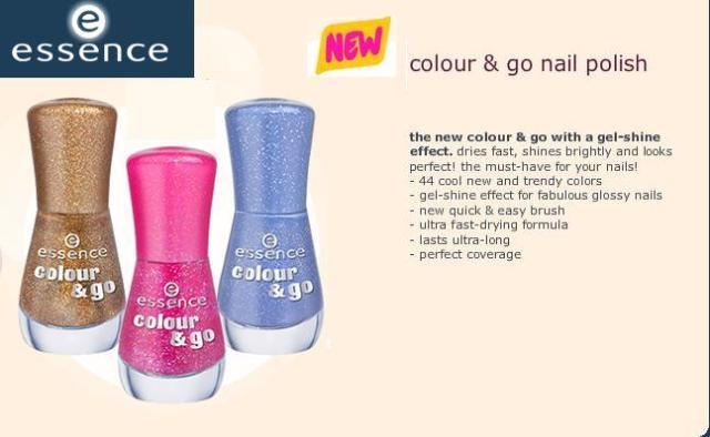 Essence Colour and Go glitter