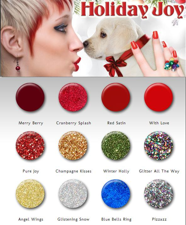 Christmas Holiday 2012- China Glaze