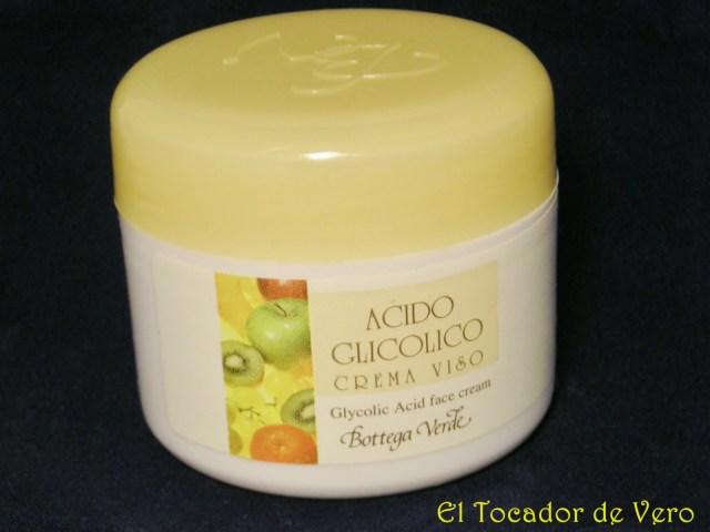 Crema de Acido Glicólico de Bottega Verde