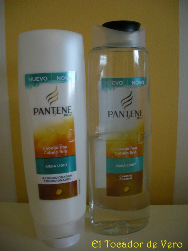 Gama Pantene Aqualight