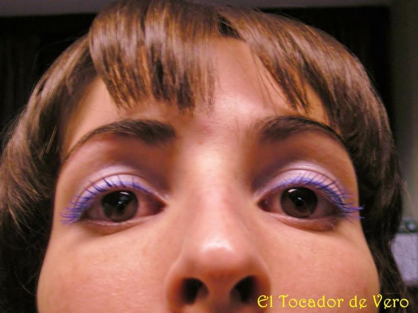 Long Lash Mascara de Nyx-detalle del maquillaje 3