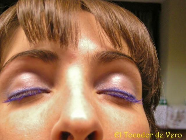 Long Lash Mascara de Nyx-detalle del maquillaje 2