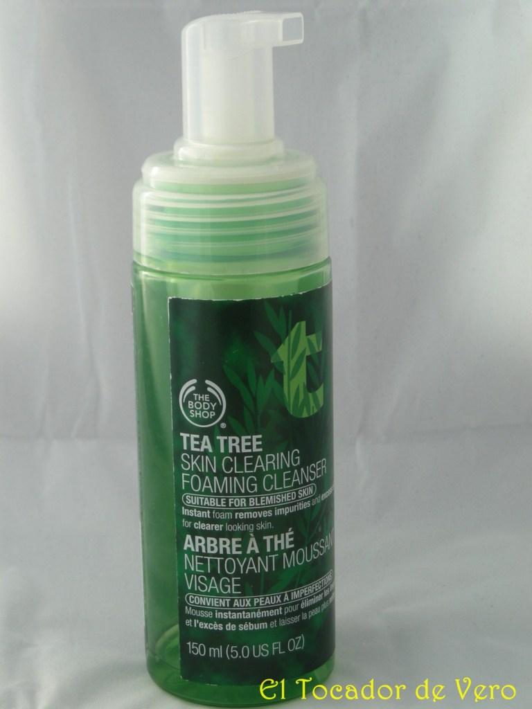 Limpiadora Espumosa Purificante Árbol de Té