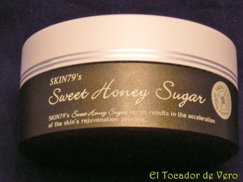 Exfoliante sweet honey sugar skin79