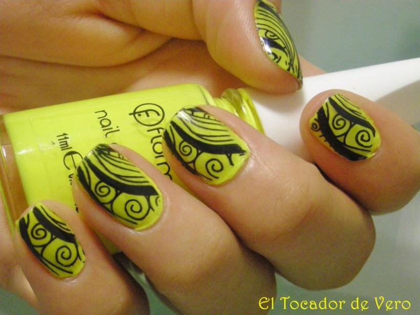 Manicura konad: fluor flormar 2