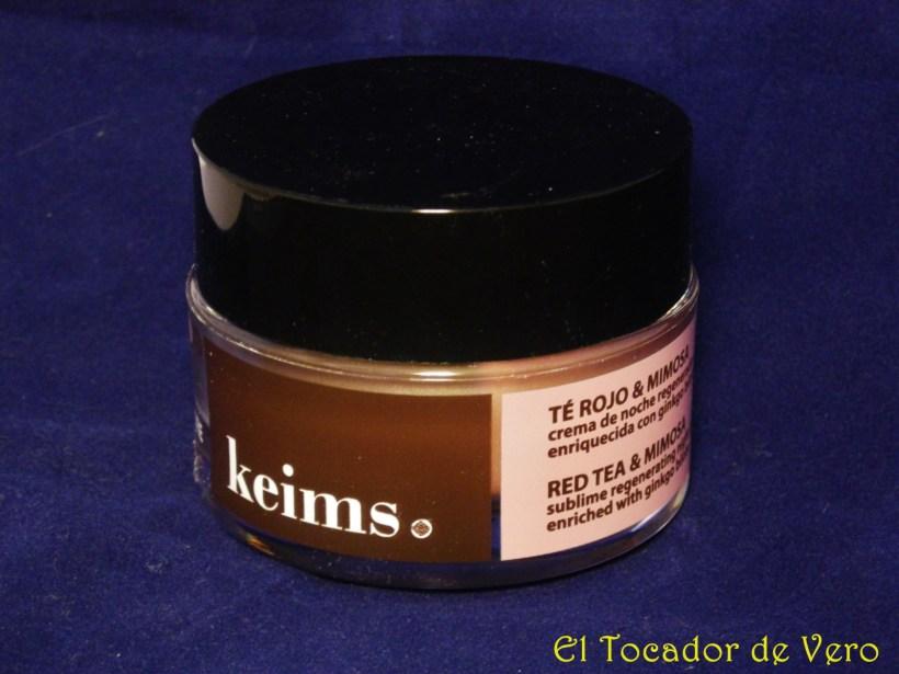 Crema de te rojo y mimosa de keims 2