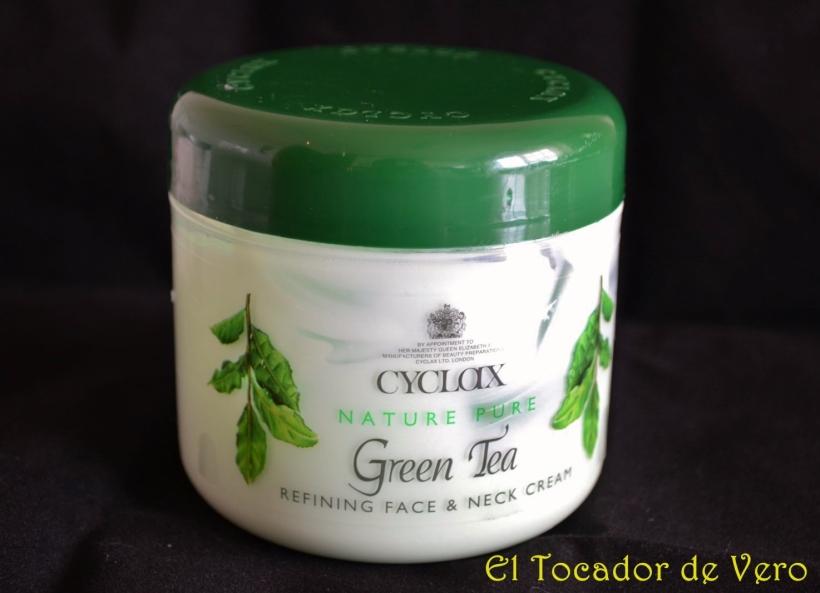 Hidratante facial de te verde de Cyclax