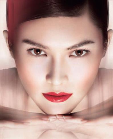 """Look """"sublime"""" de Shiseido"""