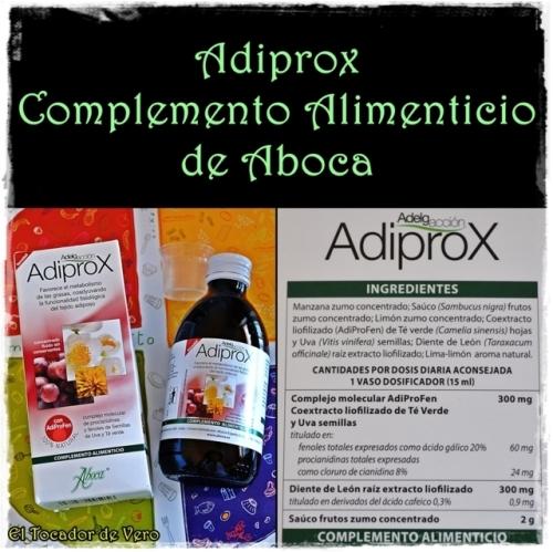 Complemento Alimenticio Adiprox de Aboca