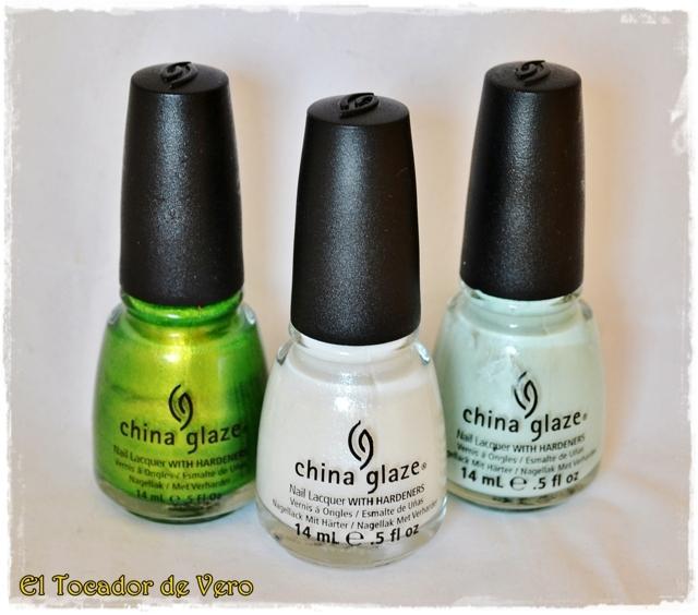 Cha Cha Cha, Dandy Lyin Around y Keep Calm Paint On de China Glaze