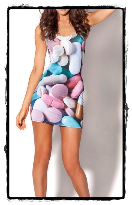 vestido pastillero