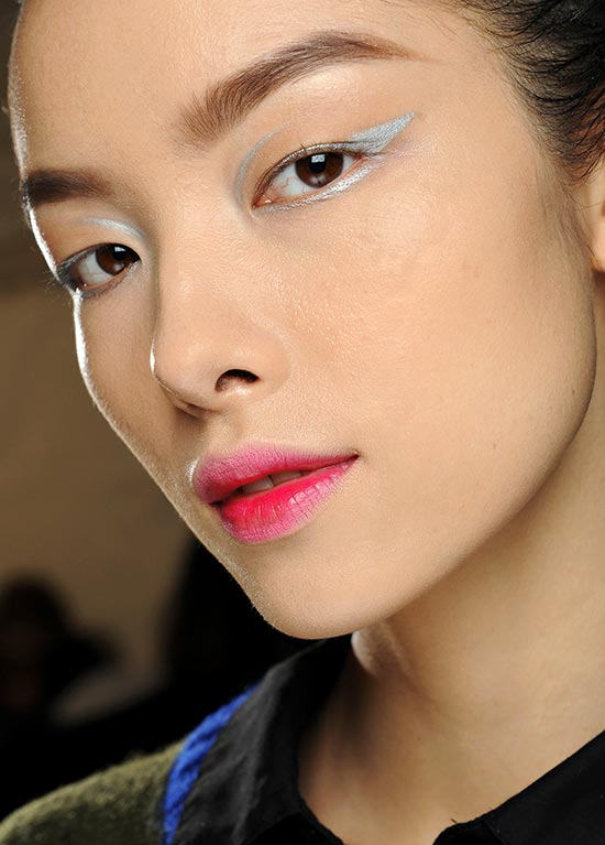 Dior Fall Winter 2013-14 - efecto labios mordidos