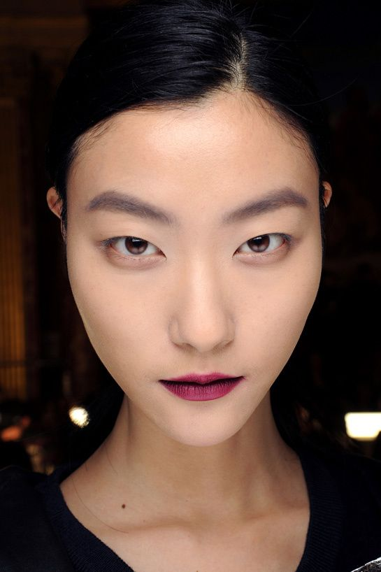 Lanvin Fall Winter 2013-14 - Wine Lips