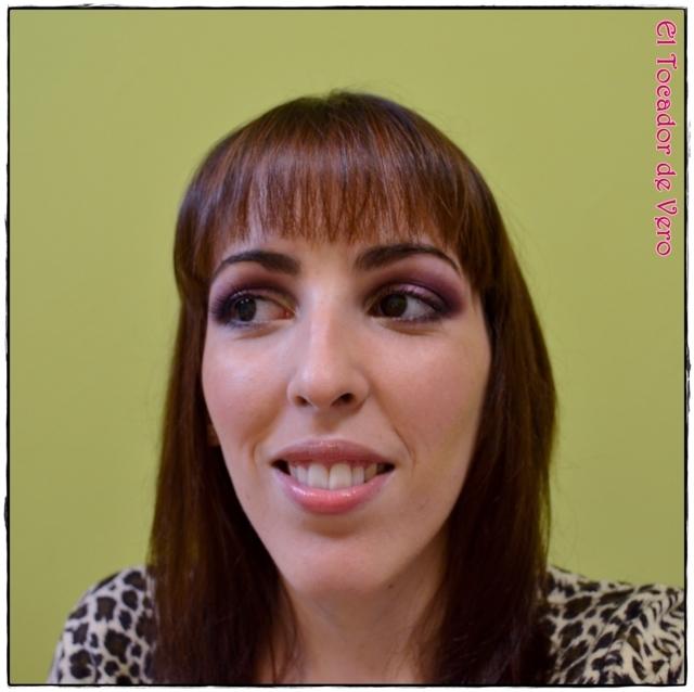 Look berry smokey eyes vintage romance sleek 1