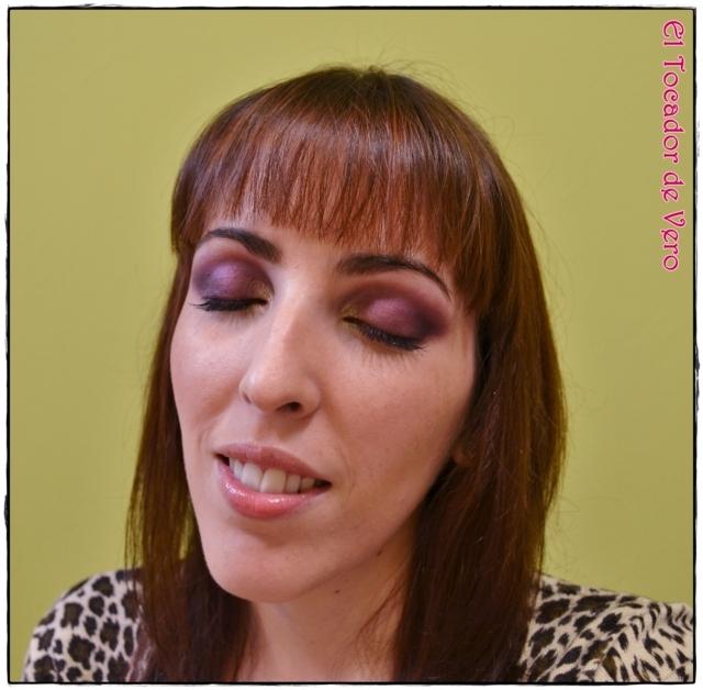 Look berry smokey eyes vintage romance sleek 4