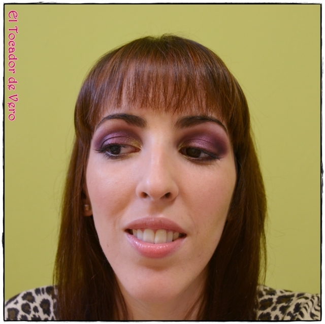 Look berry smokey eyes vintage romance sleek 7