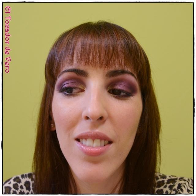 Look berry smokey eyes vintage romance sleek 7