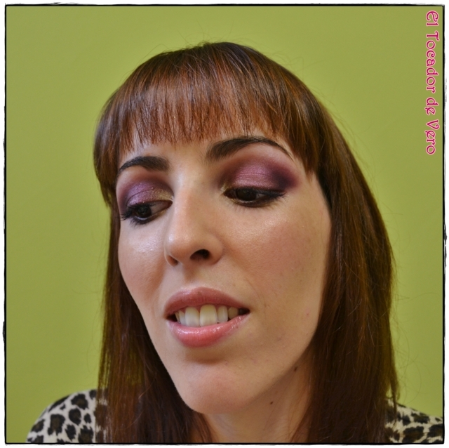 Look berry smokey eyes vintage romance sleek 8