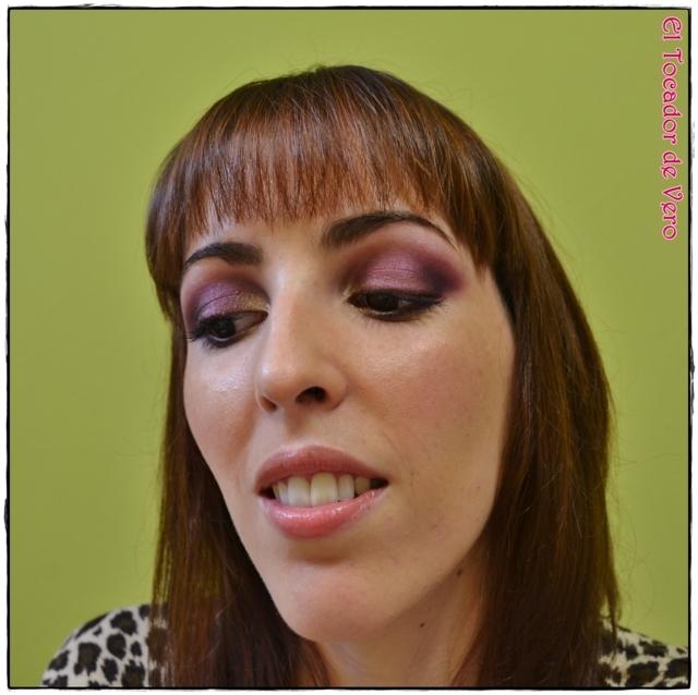 Look berry smokey eyes vintage romance sleek 8