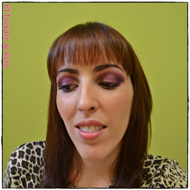 Look berry smokey eyes vintage romance sleek 10