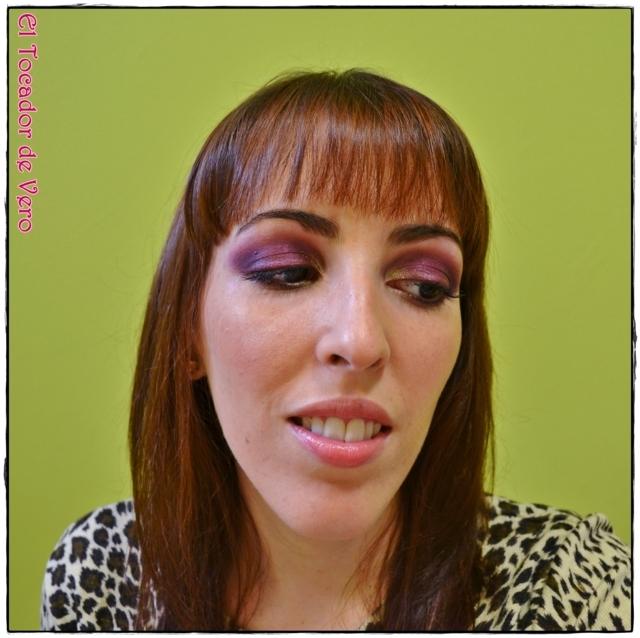 Look berry smokey eyes vintage romance sleek 11