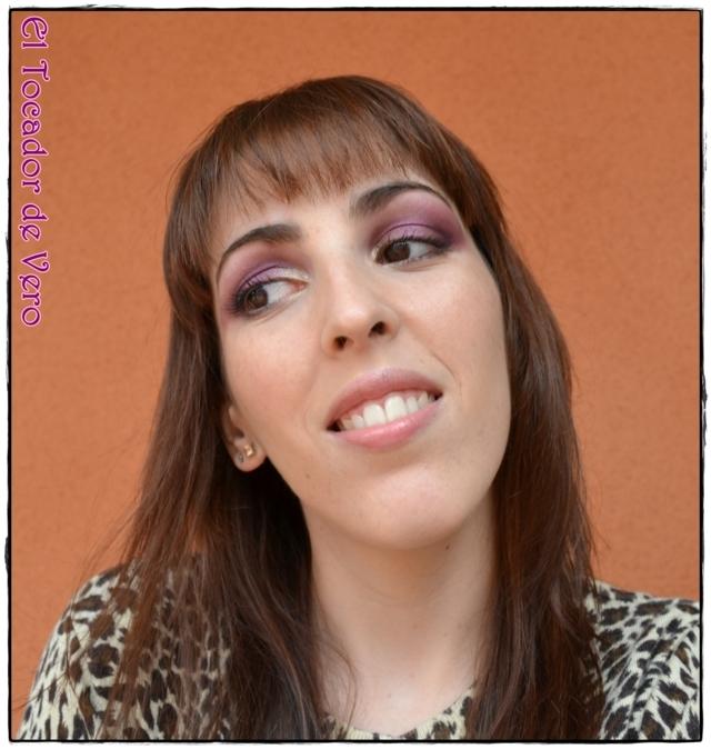 Look berry smokey eyes vintage romance sleek 13