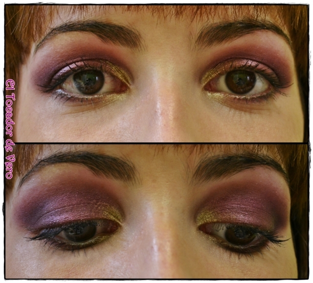 Look berry smokey eyes vintage romance sleek 15