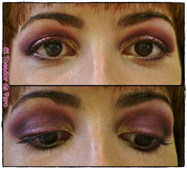 Look berry smokey eyes vintage romance sleek 15