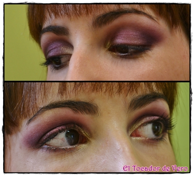Look berry smokey eyes vintage romance sleek 14