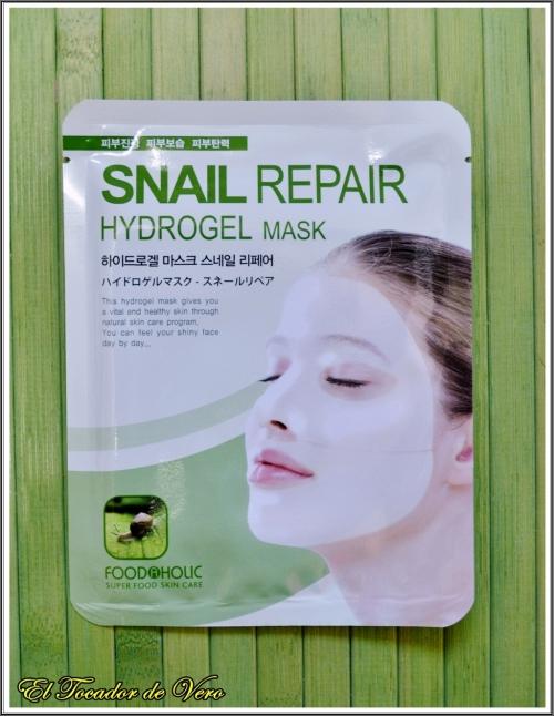 Mascarilla facial Snail Repair de Foodaholic