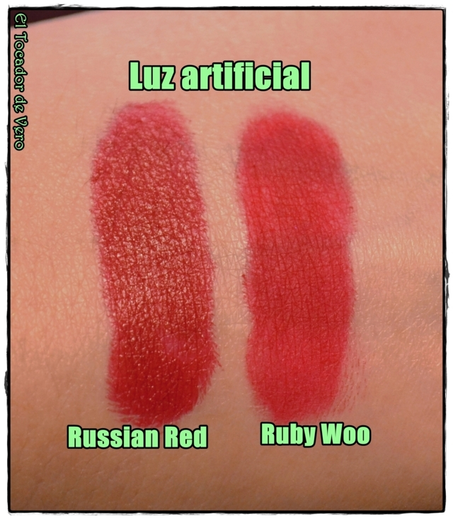 russian red vs ruby woo luz artificial (FILEminimizer)