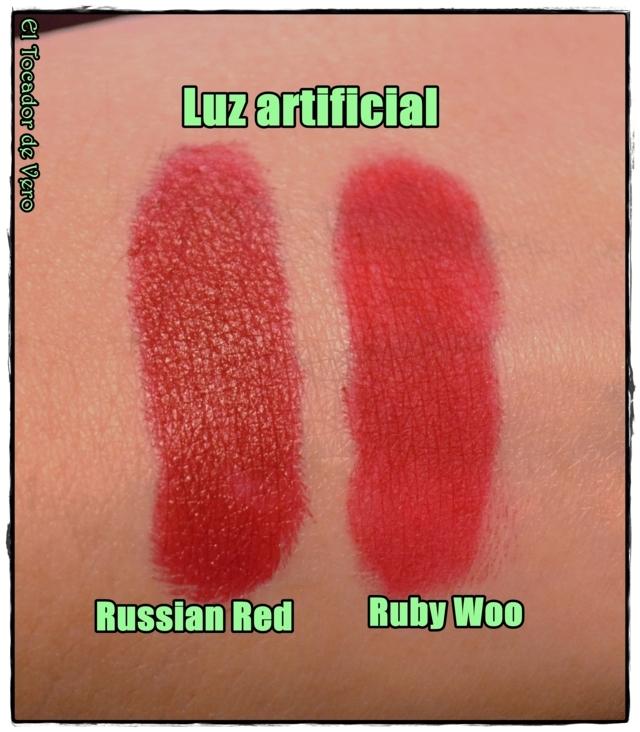 russian red vs ruby woo luz artificial (FILEminimizer)