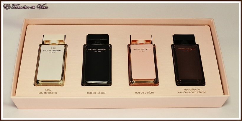 set de miniaturas Narciso Rodriguez (FILEminimizer)