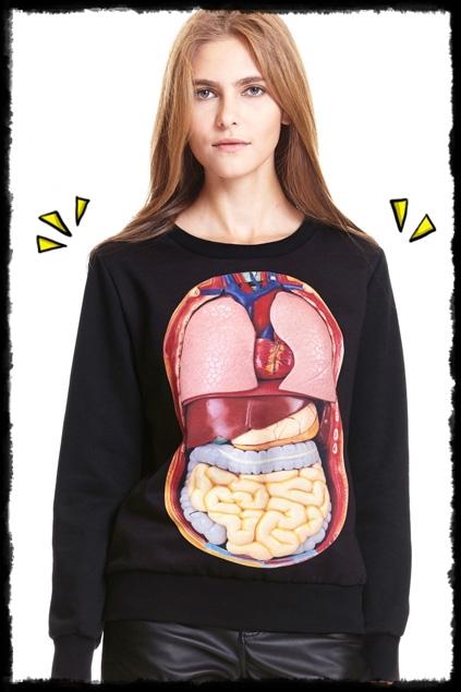 sudadera intestinos