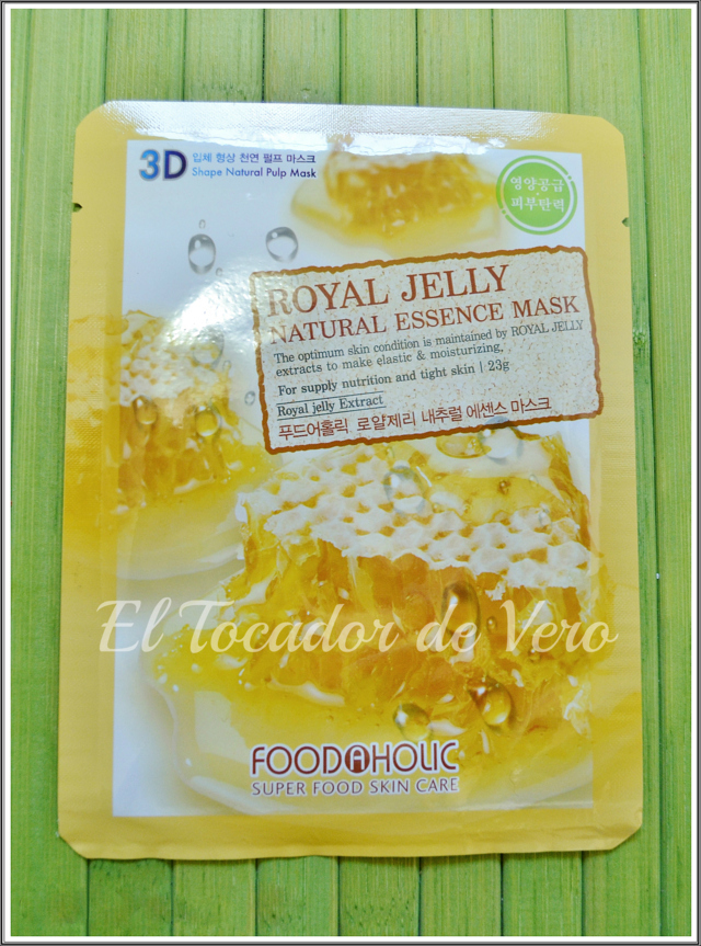 Mascarilla royal jelly Foodaholic