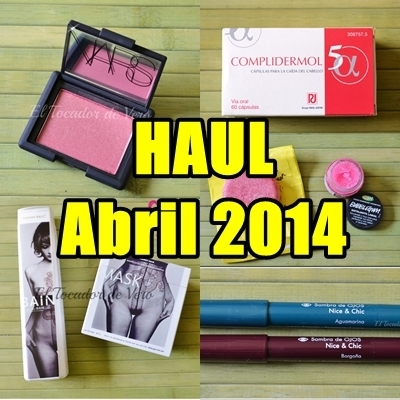 Haul abril 2014: Nars, Lush y cositas varias