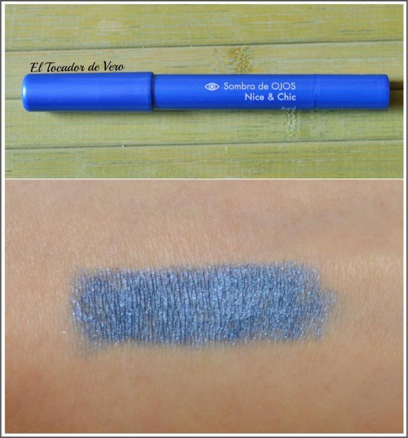 sombra en crema deliplus azul