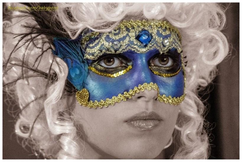 Máscara Veneciana El Tocador de Vero