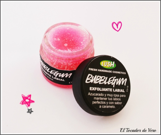 exfoliante labial bubblegum lush