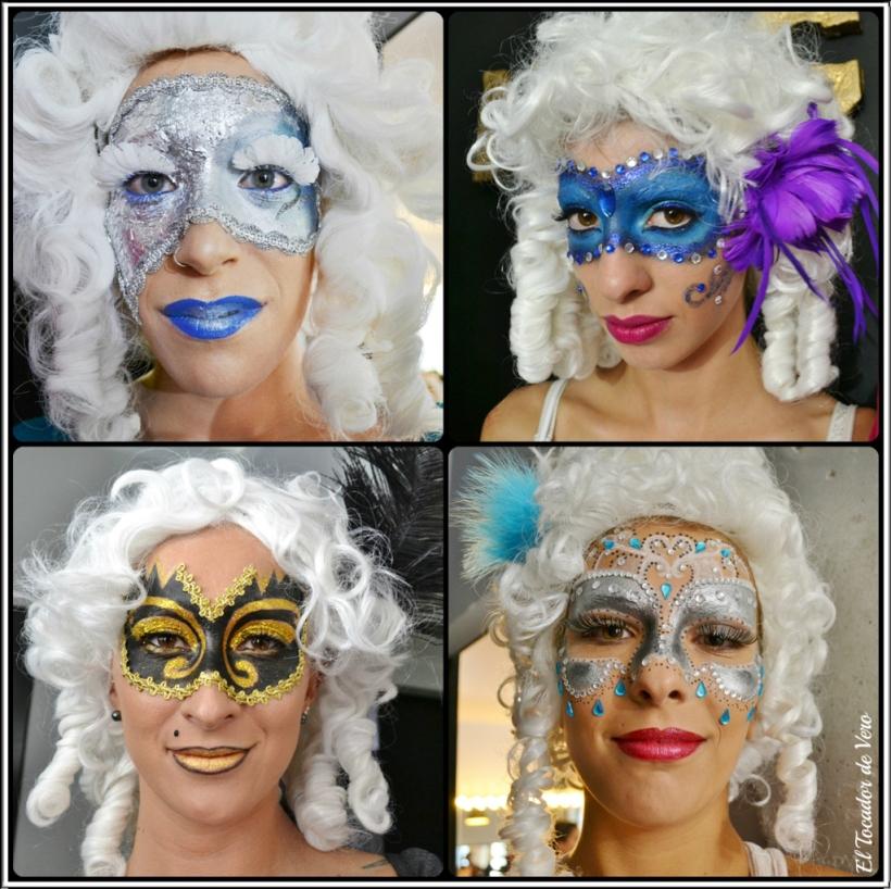 mascaras venecianas Beauty Lab Night 2014