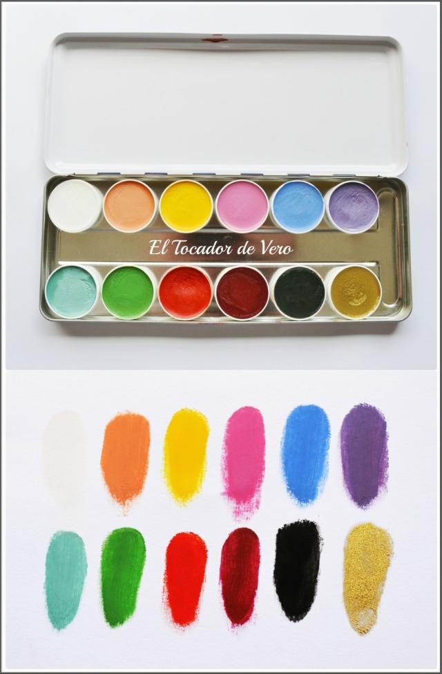 paleta supracolors Kryolan